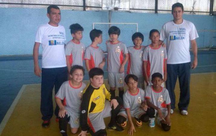Prefeitura de Belém - Equipes de Futsal da Sejel estreiam no ... a3662d5fd6016
