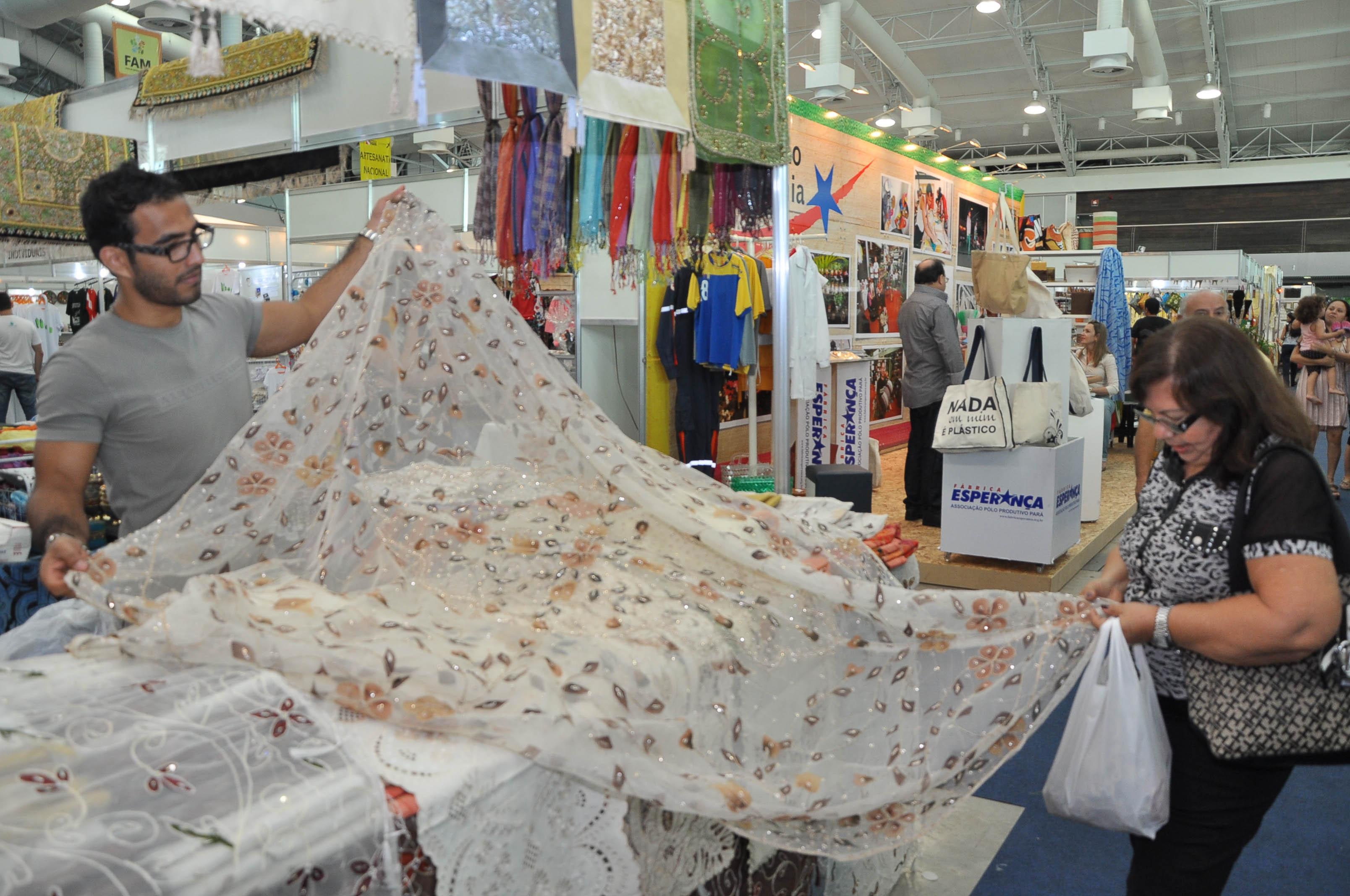Artesanato No Brasil ~ Feira do Artesanato Mundial reúne produç u00e3o artística do Brasil e do Mundo em Belém
